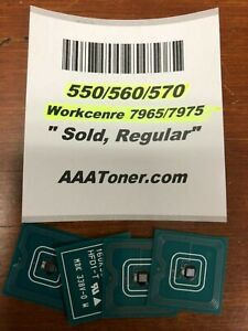 4-x-Toner-Chip-1525-SOLD-for-Xerox-550-560-570-WC-7965-7975-Refill