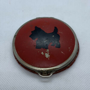 Vintage-Red-Makeup-Compact-Scottie-Dog