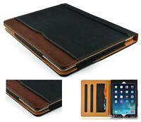 Soft Leather Smart Case Cover Sleep/wake Stand For Apple Ipad Air -2