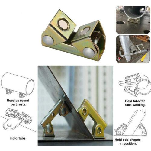 4X Magnetic V Type Welding Fixture Adjustable Clamp Holder Suspender Fixture XL