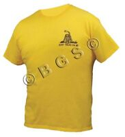 Dont Tread On Me Tea Party Ss 'low Key' Gold T Shirt S-3x Come And Take It 2a