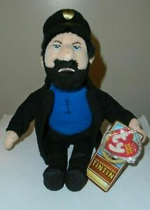 Ty Beanie Baby - CAPTAIN HADDOCK (The Adventures of TinTin) MINT with MINT TAGS