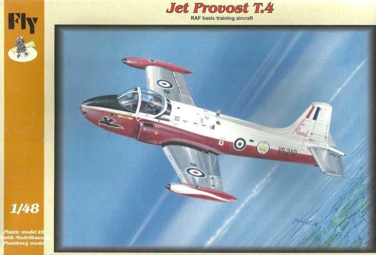 JET PROVOST T.4 (RAF MARKINGS) 48 FLY RARE