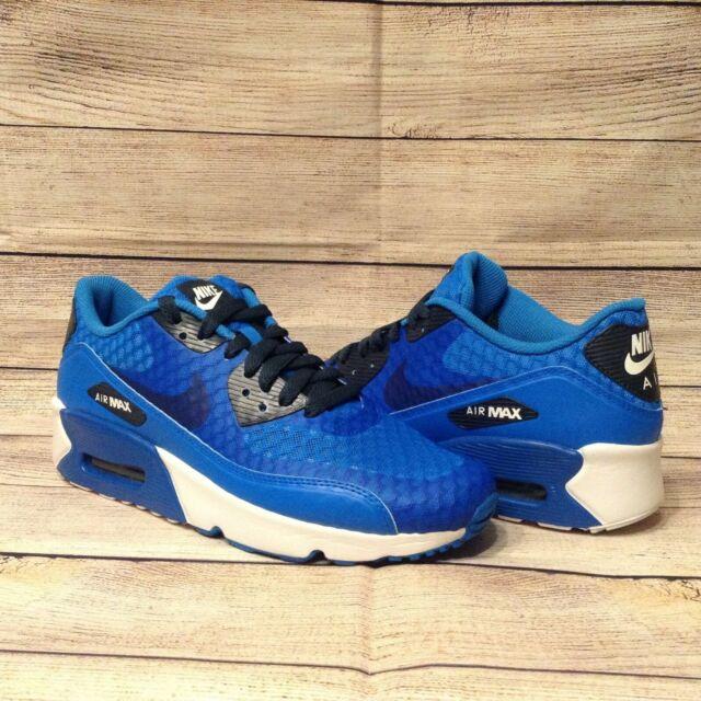 Nike Air Max 90 Ultra 2.0 BR (GS) Blue White Big Kid Size 7Y