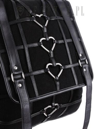 Harnés Bolso Gótico Símbolos Mochila Bruja Ocultistas Heart Restyle Heavy wxCIqqp