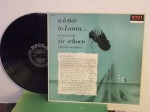 Vic-Schoen-Decca-034-A-Letter-To-Laura-034-US-LP-mono-black-labels-1956-orig-M
