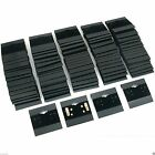 100pcs VELVET JEWELRY EARRINGS DISPLAY HANG CARDS BLACK FLOCKED 2X2 INCH