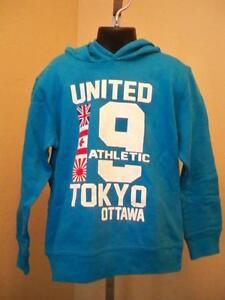 Blau Kapuzenpulli 5/6 Gewissenhaft New-minor Flaw-united Athletic Tokyo Ottawa Kinder M