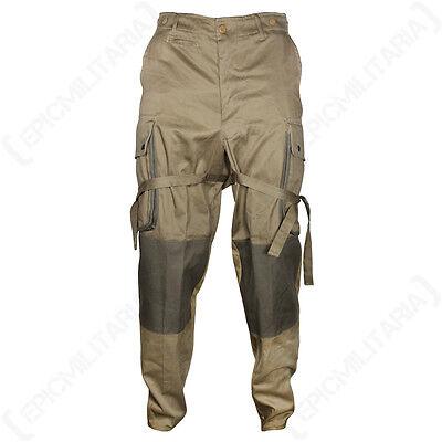 WW2 Americano 101° 82° Stati Uniti Airborne M1942 M42 Paracadutista Pantaloni