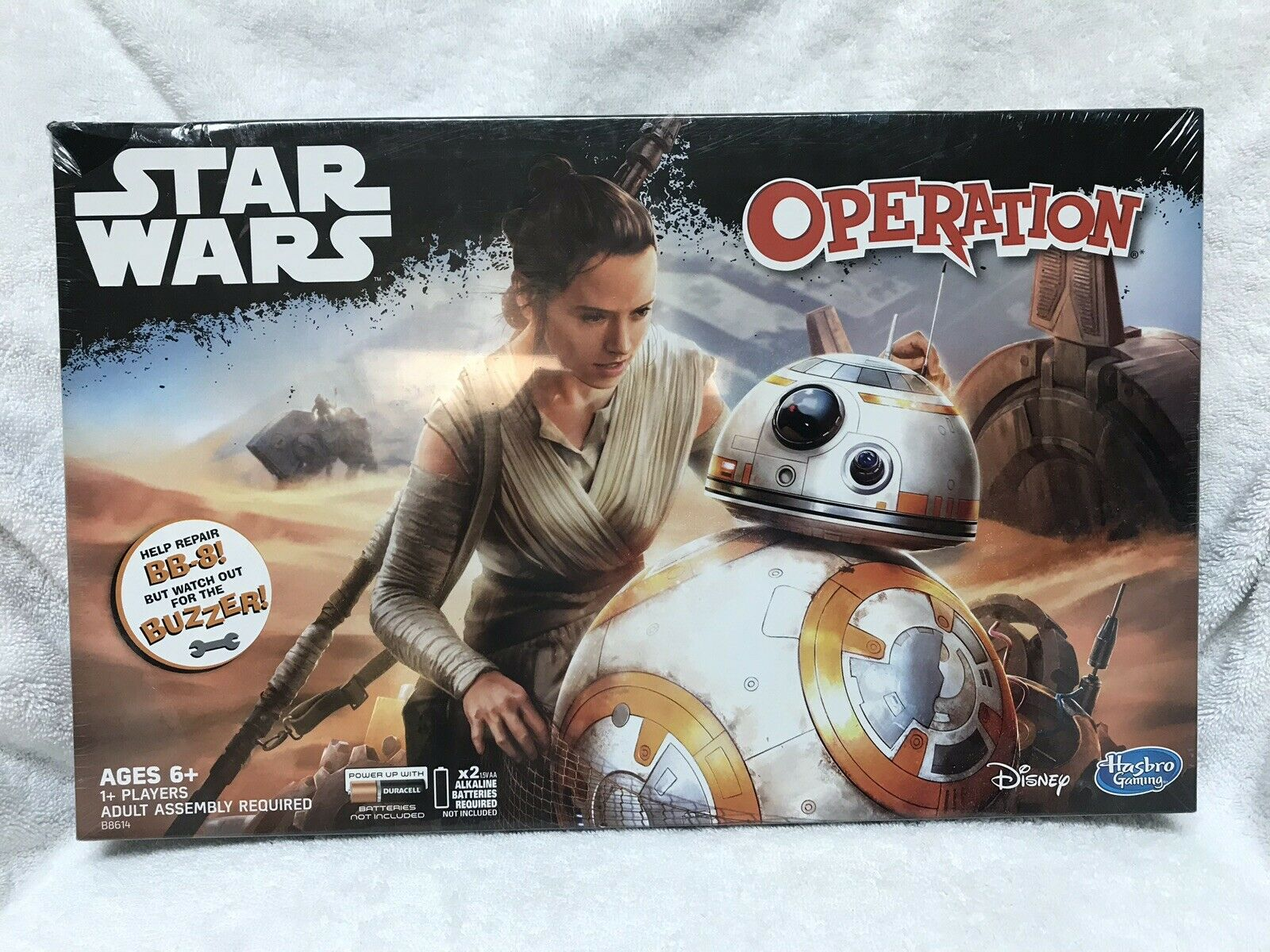 HASBRO OPERATION STAR WARS BB-8 EDITION  NEW    FREE SHIPPING 820cce