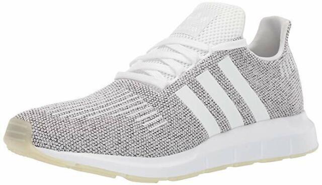 4148f9b94e877 NEW BD7970 Men's Adidas SWIFT RUN M SHOES/CLOUD WHITE WHITE / CORE BLACK