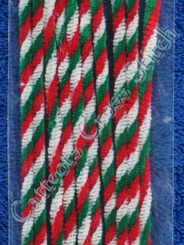 1 of 1 - Pipe Cleaners Christmas Twist Red White Green Chenille Sticks Darice