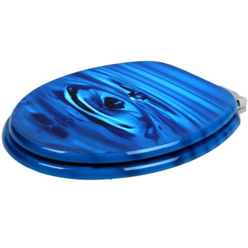 Fermeture amortisseur Modèle au choix Siège de toilette Abattant WC Cuvette
