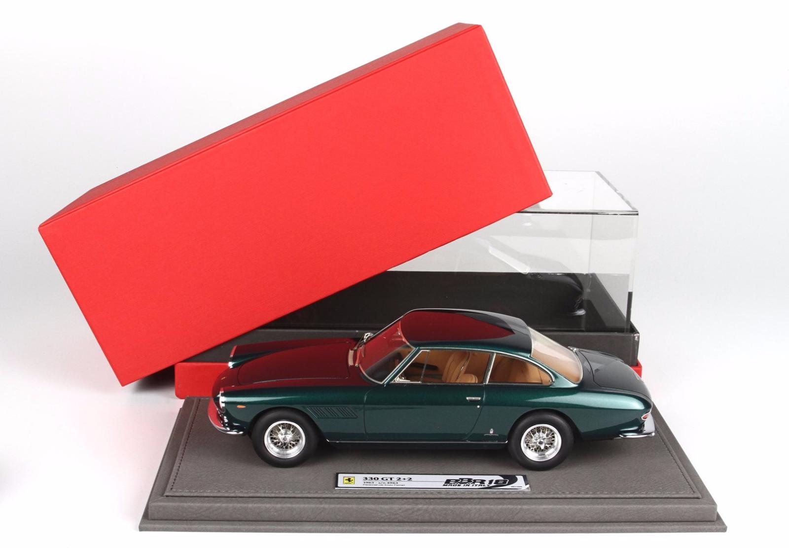 Bbr 1963 Ferrari 330 Gt 2 + 2 Pers Voiture Enzo le de 200 1 18 Neuf