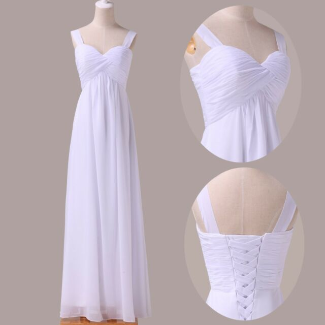 BIG SALES STOCK Elegant Prom Evening Gowns Formal Wedding Bridesmaid Long Dress