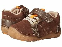 Striderite Little Boys Soft Brown Shoes Infant Boys Size 4 1/2 Wide