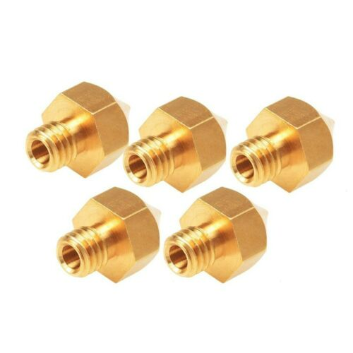 MK8 Nozzle Brass 0.2-1.0mm for A8 Creality CR-10 Ender 3 5 Hotend Extruder lot