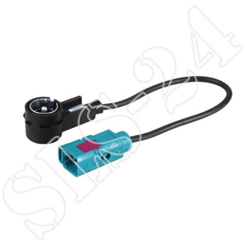 Adaptador de antena cable-ISO conector de conector FAKRA KFZ antenas de radio adaptador