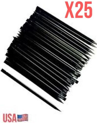 X25 Black Plastic Nylon Pry Spudger Black Opening Repair Tool iPhone iPad Laptop