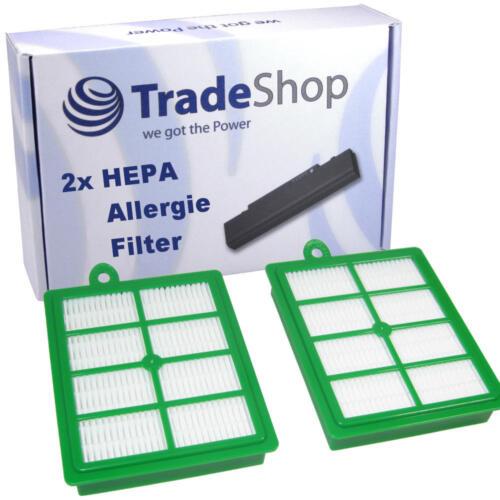 2x Allergia HEPA Polvere Filtri Filtro MICRO PER PHILIPS fc9150//01-02 Performer