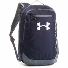 Under Armour Hustle 4.0 Backpack Schule Laptop Sport Rucksack gray 1342651-012
