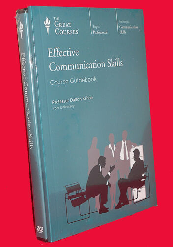 NEW DVDs 24 Lectures Effective Communication Skills Great Courses Teaching Co