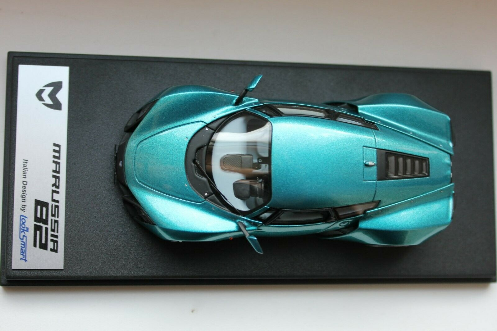 Look Smart LSMA01B 1:43 MARUSSIA B2 2009 LIMITED EDITION 165 PCS GLACIER BLUE ME