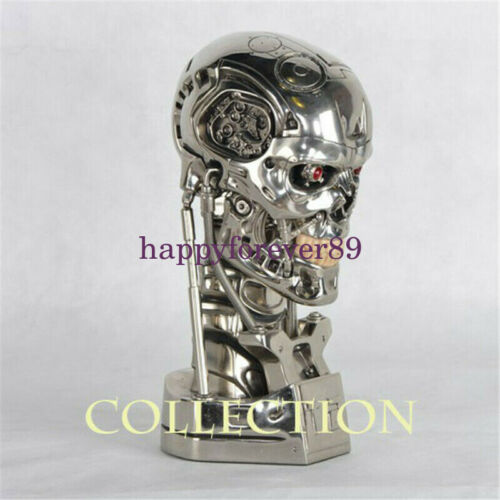 Terminator T800 1//1 Bust Statue T2 Head Sculpt Resin Model GK Collections New