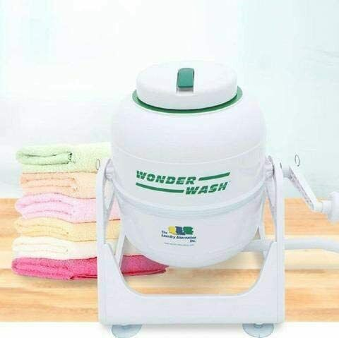 The Laundry Alternative Wonderwash Non-electric Portable Compact Mini Washing...
