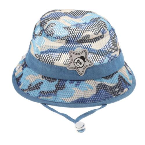 Baby Eimer Hut scherzt Camo im Freien Höhle Fischen Hüte mit breiter