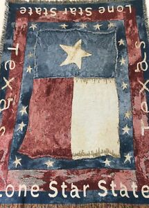 Texas-Throw-Blanket-Lone-Star-State-Flag-Woven-Fringed-Yalls-Sofa-Couch-65-X-47