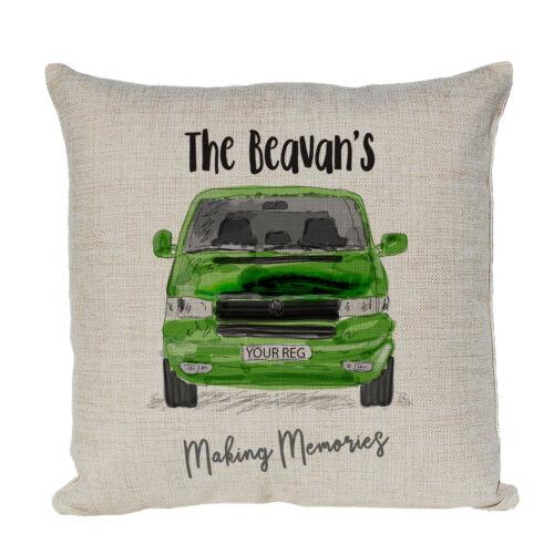 Motor Home  Camping Cushion Personalised Cushion Campervan Caravan