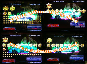 Details about Wangan Maximum Tune 3DX+ 19,000+ Stars + 2,800 Coin + LvL46 +  Your Name