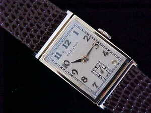 All-Original-1941-Hamilton-Gilbert-14-Karat-Solid-Gold-In-Signed-Gilbert-Case