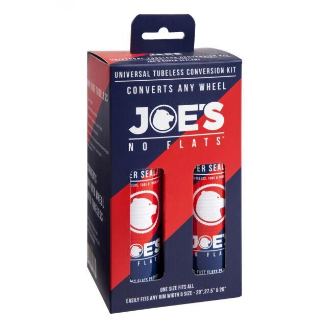 "JOES NO-FLATS Universal Tubeless Conversion Kit - 26-29"" inch"