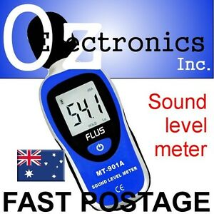 Details about LCD Digital 30-130dB Audio Sound Noise Level Meter Decibel  Monitor Brand NEW