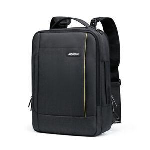 Laptop-Backpack-Carrying-Bag-Messenger-Case-Handbag-USB-Charging-SchoolBag-15-6-034