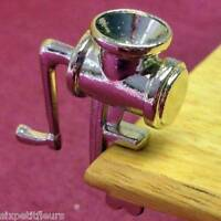 Dolls House Metal Mincer 1:12th Streets Ahead Kitchen Miniature Uk Seller