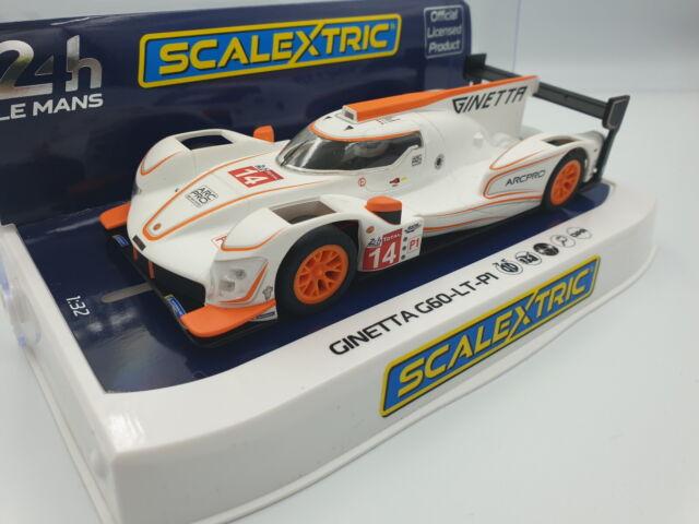Scalextric 1:32 Ginetta G60-LT-P1 #14 HD C4061