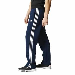 BK7428-Mens-Adidas-Essentials-3-Stripe-Fleece-Pant