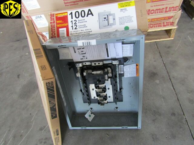 buy square d hom12m100c homeline 100 amp 12-space 12 ... 2001 mustang wiring diagram honda civic main relay location
