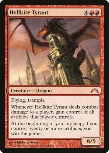 Dragon Myth Presque comme neuf * MTG 1x Hellkite Tyrant-Gatecrash