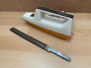 ancien couteau électrique moulinex vintage.
