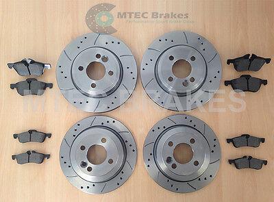 MINI ONE 1.6 REAR BRAKE DISCS /& PADS SET 259mm R50 R52 R53 Vented 01-06