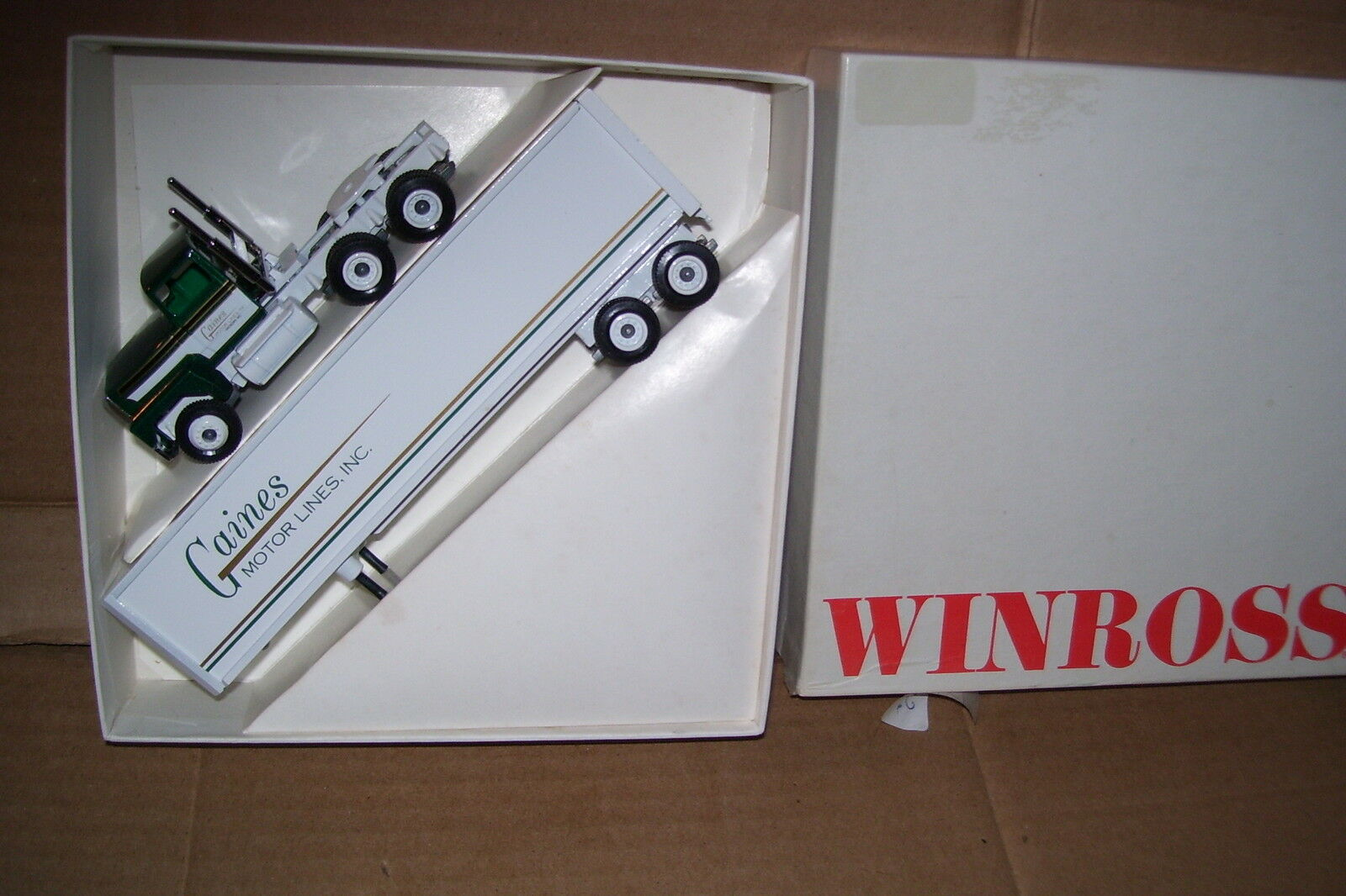 1987 Gaines Motor Lines Winross Diecast Trailer Truck