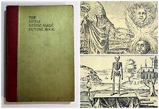 RARE Antique 1937 THE LITTLE MYSTIC MAGIC BOOK Nicolaus Occult ALCHEMY Mysticism
