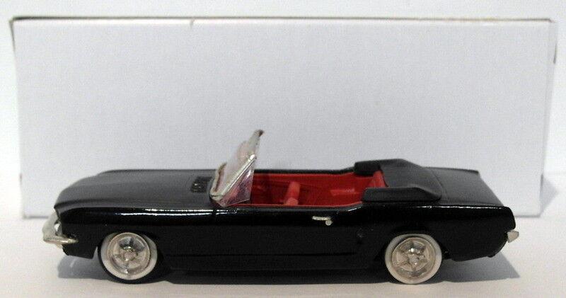 tiendas minoristas Precision Miniatures 1 43 Scale Scale Scale blanco Metal 001 - 1965 Ford Mustang - negro  hermoso