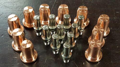 20pc 51320 x PT-60 iPT60 iPT-60 PT-40 40A Plasma Drag Nozzles /& Electrodes