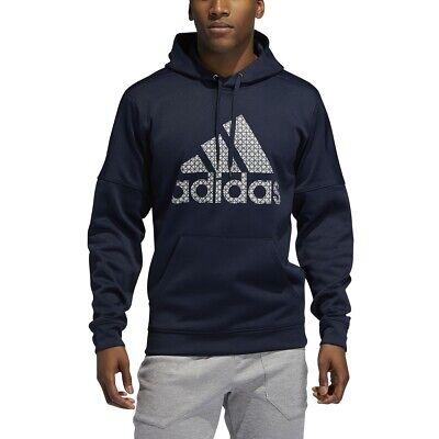 NWT ADIDAS Big /& Tall Mens Climawarm Athletic Sweatshirt BLUE 3XL 4XL 5XL