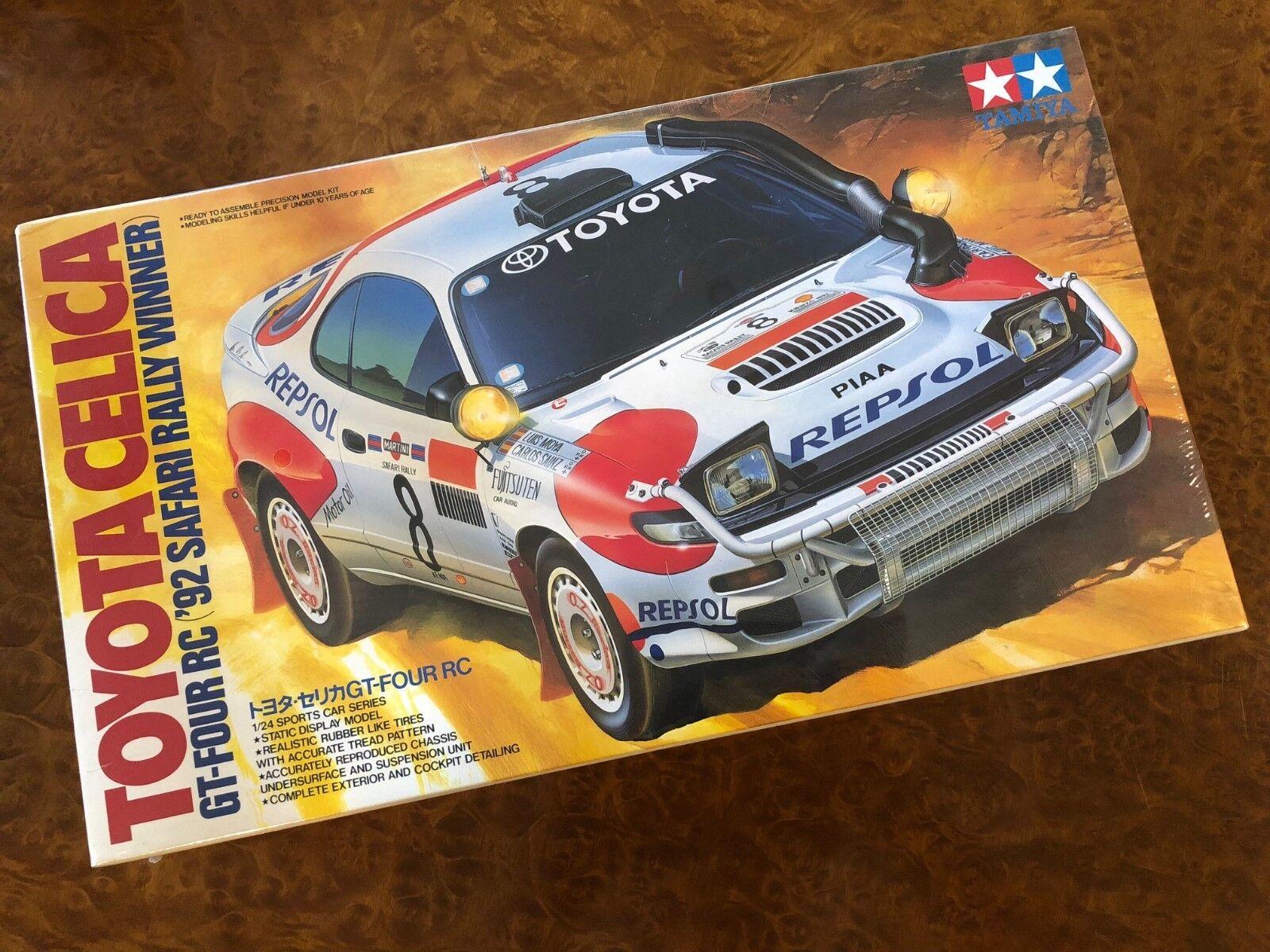 Tamiya 1 24 Repsol leksakota Celica Gt -Four Rc 1 a rally Safari Scatola Sigillata